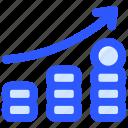 chart, growth, income, money, salary