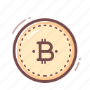 bitcoin, blockchain, cryptocurrency, sign icon