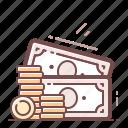 cash, finance, money