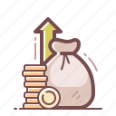 money, income, profit, revenue icon