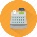 bill, cash, cashier, cashier machine, money, payment, receipt icon