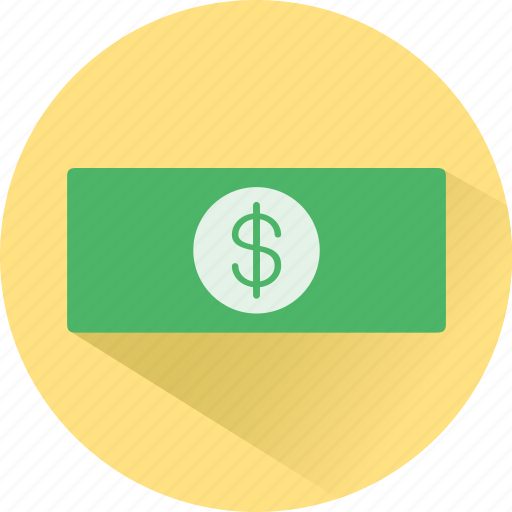 cash, currency, dollar, finance, funding, money icon