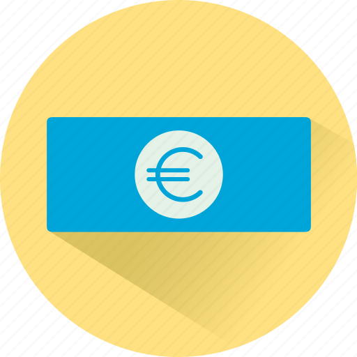 cash, currency, euro, finance, funding, money icon