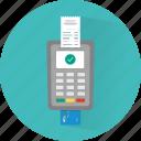 card, finance, payment, pos, receipt, transaction