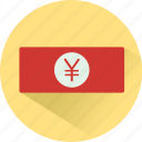 cash, currency, finance, funding, money, yen icon