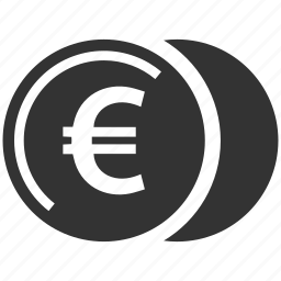 coin, euro, money, pay icon