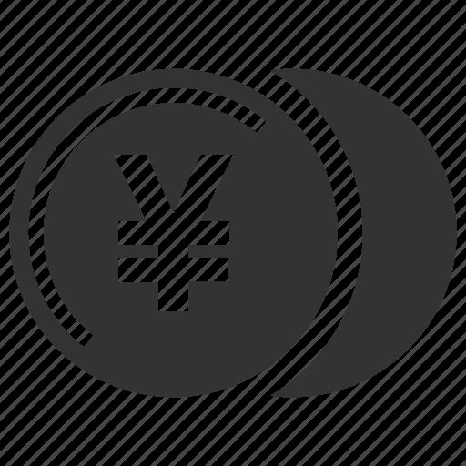 coin, yen icon