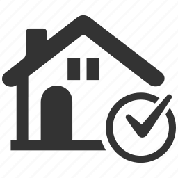 approved, finance, home, loan, mortgage, real estate, stamp icon