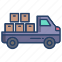 delivery, truck