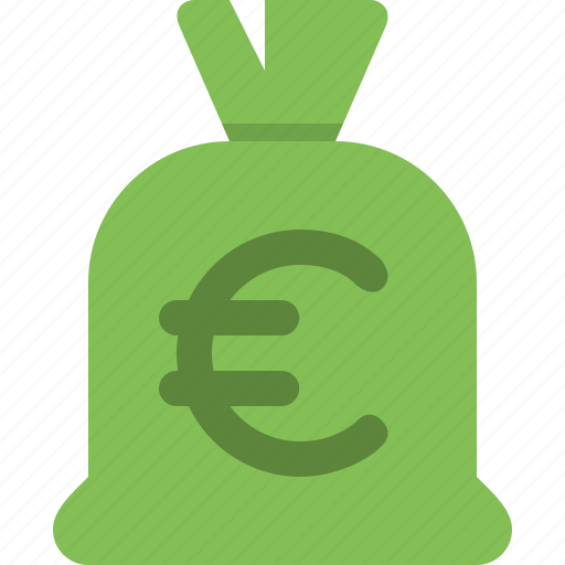 bag, cash, currency, euros, finance, money, payment icon