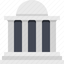 bank, banking, building, capital, capitalism, finance, financial icon