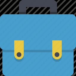 bag, baggage, briefcase, career, case, job, luggage icon