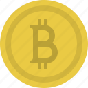 bitcoins, cash, coin, currency, finance, financial, money icon