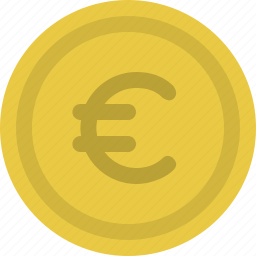 cash, coin, currency, euros, money, payment icon