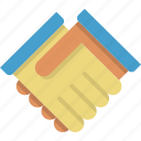 agreement, alliance, business, deal, friendship, handshake, partner icon