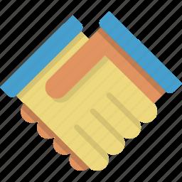 agreement, alliance, business, deal, friendship, handshake, partner icon