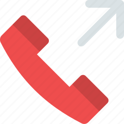 answer, call, outgoing, phone, phone handle, talk, telephone icon