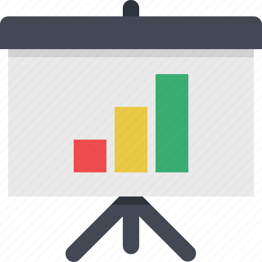 analytics, chart, financial, graph, presentation, reports, statistics icon