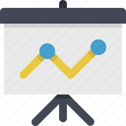 chart, diagram, financial, graph, presentation, reports, statistics icon