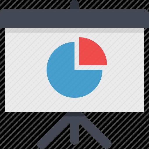 analytics, chart, diagram, pie, presentation, report, statistics icon