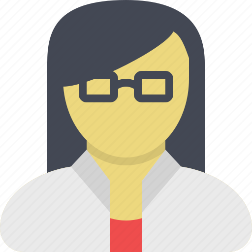businesswoman, customer support, office assistant, sales representative, secretaire, support, technical support icon