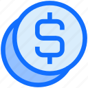 finance, coins, money, business, currency, dollar