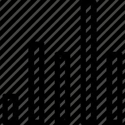 analytics, bar, bar-chart, business, businessman, chart, charts, comparison, creative, data-representation, diagram, finance, financial, graph, grid, horizontal, line, rectangle, rectangular-bars, report, representation, shape, statistics, vertical icon