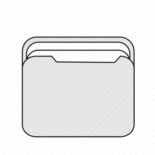 box, file, folder icon
