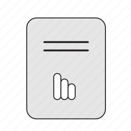 file, image, static icon