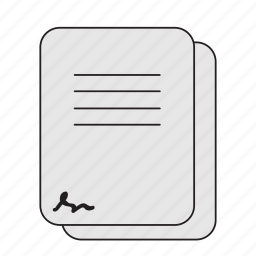 files, paper, papers, project icon