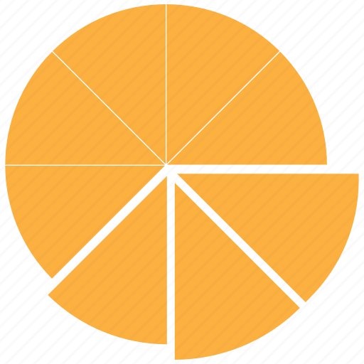 chart pie, graph, pie, statistics icon
