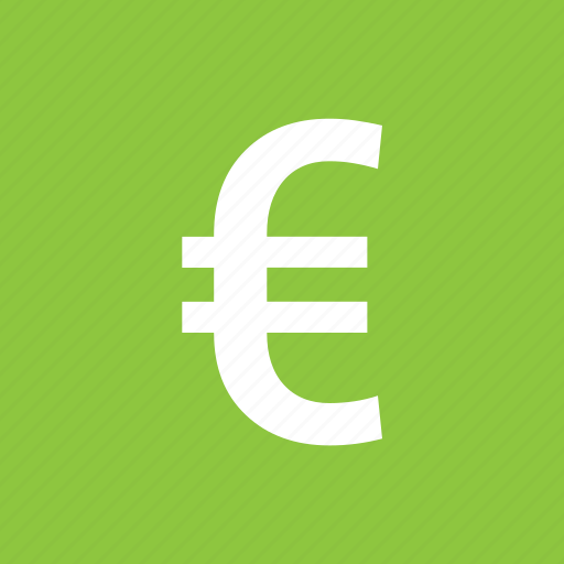 currency, euro, european, money, sign icon