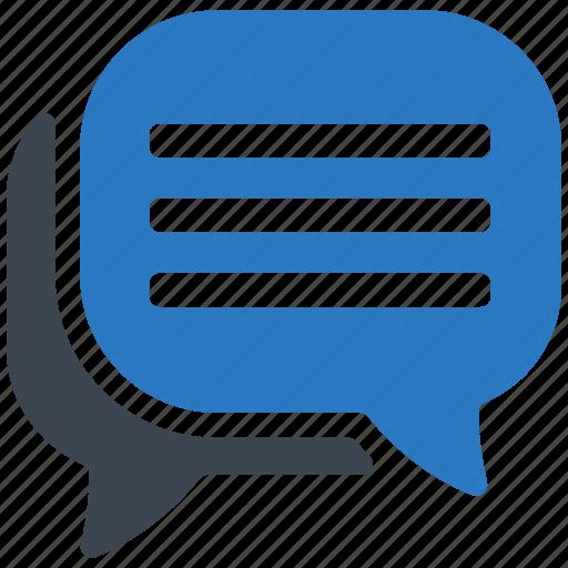 chat, discussion, speech bubbles icon