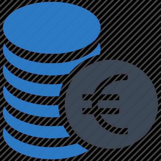 coin, coins, euro, money icon