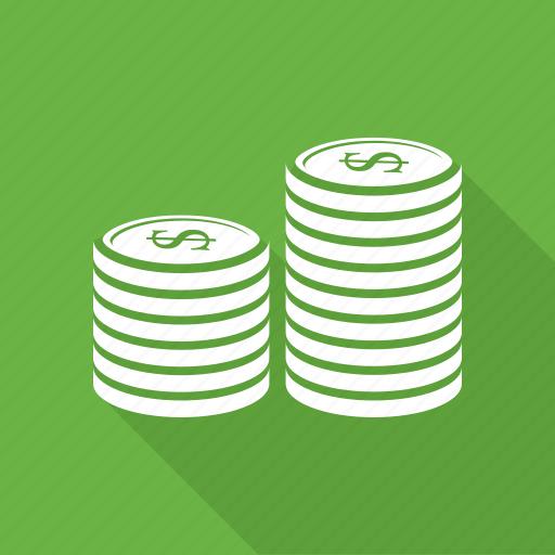 business, coin, dollar, money icon