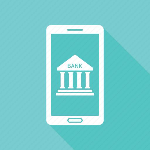 bank, bank account, banking, home bank, online bank icon