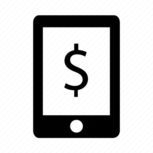 dollar, finance, ipad, money, tablet icon icon