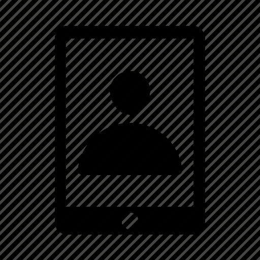 avatar, mobile, mobile profile, profile, user icon icon