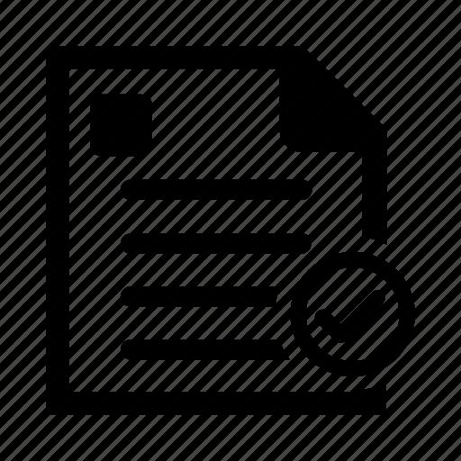check, clipboard, document, paper icon icon