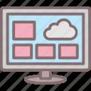 applications, desktop, desktop widgets, monitor, widget