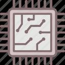 cpu chip, hardware, microchip, microprocessor, processor