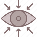 attention, centre, focal point, focus, optical recognition