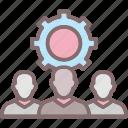 collaboration, group, network, participants, team