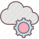 cloud computing, cogwheel, computing, icloud, virtual machine