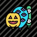 halloween, party, balloons, decoration, balloon, birthday