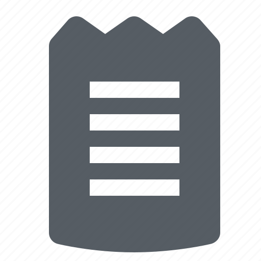 finance, invoice, payment, receipt icon