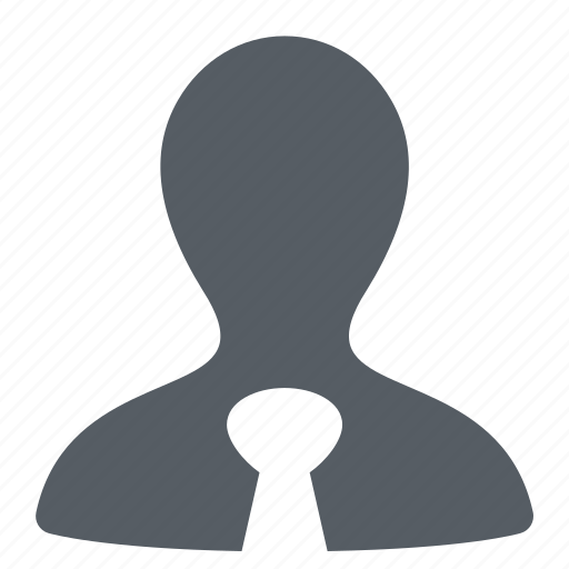 account, business, man, tie, user icon