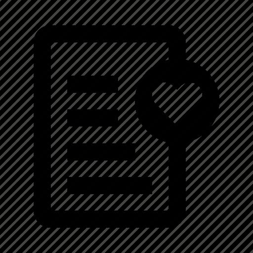 checklist, favorite, notes, wishlist icon