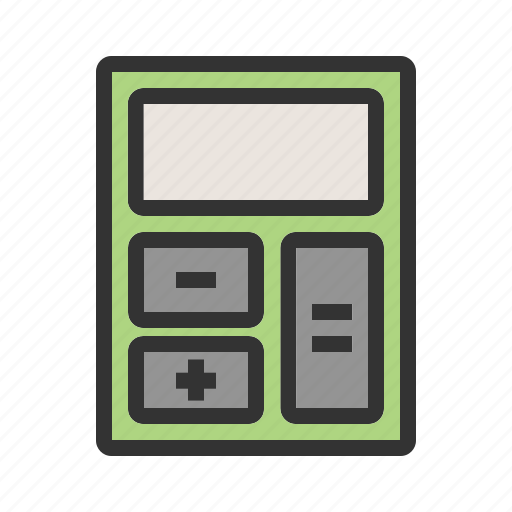 calculate, calculator, count, electronic, financial, mathematics icon