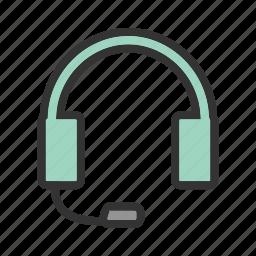 business, call, center, customer, operator, service, support icon
